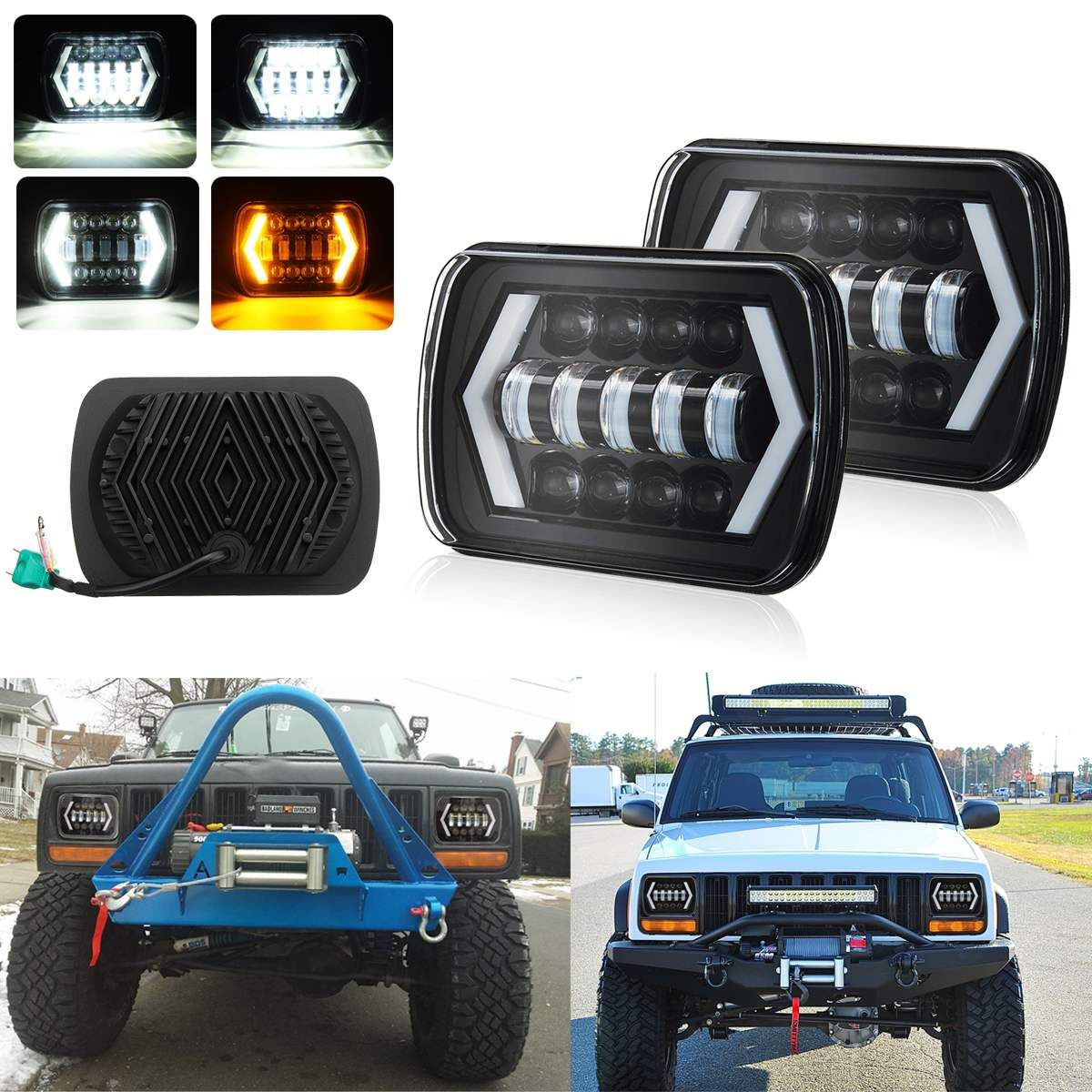 2Pcs For Car ATVs Truck SUV for Nissan 7X6