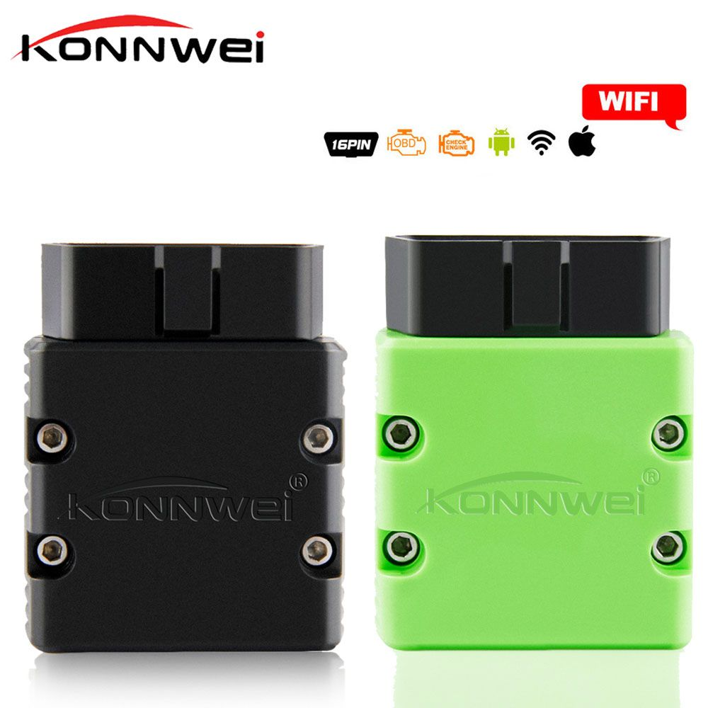 KONNWEI ELM327 WIFI V1.5 PIC25K80 KW902 Autoscanner ELM 327 support WIFI IOS pour iPhone iPad et Android PC EML327 Protocole Complet