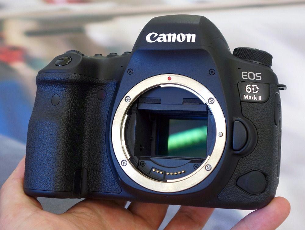 Canon EOS 6D Mark II DSLR Камера Средства ухода за кожей только