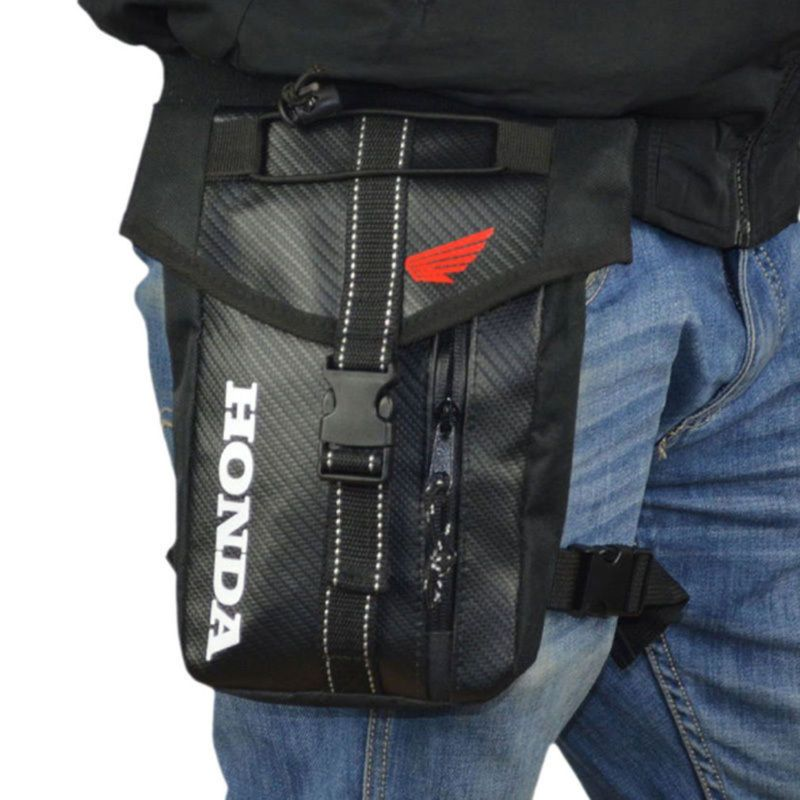 Men's Waterproof Oxford Thigh Drop Waist Leg Bag Motorcycle Military Travel Cell/Mobile Phone Purse Fanny Pack