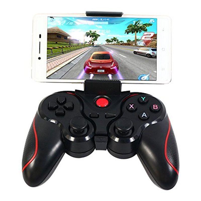 Smartphone contrôleur de jeu sans fil Bluetooth téléphone manette de jeu pour IOS Android Win7/Wind8/Win 10 PC tablettes boîte de télévision