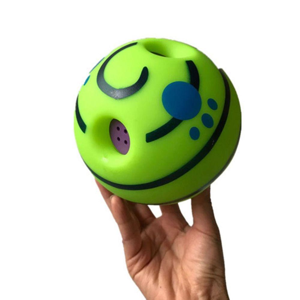 Drôle Sonore Pet Chiens Chats Jouer Au Ballon Wobble Wag Rire À Mâcher Balle Chiot Ballon D'entraînement Avec Son Drôle Cadeau Pet fournitures de jouets