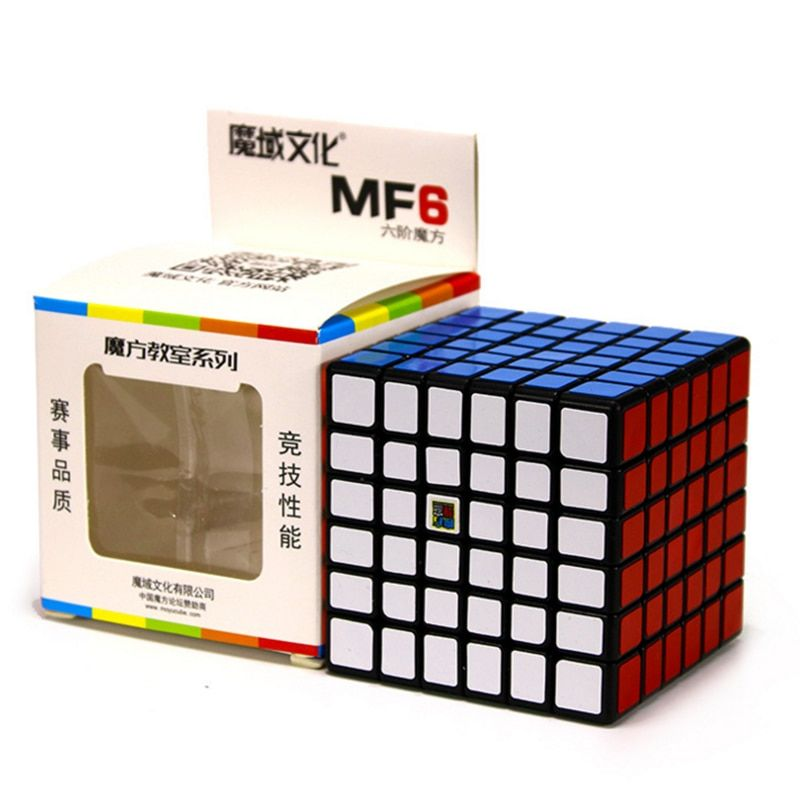Moyu MofangJiaoshi MF6 <font><b>Cube</b></font> Speed 6Layers Stickerless 68mm Puzzle <font><b>Cubes</b></font> For Children cubo Championship 6x6 Learning EducationToy