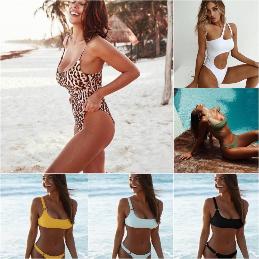 Bikini Swimwear Swimsuit 2018 Sexy Bikinis Biquini Women's Swimming Suit Bathing Suit For Women Swimsuits Maillot De Bain Femme