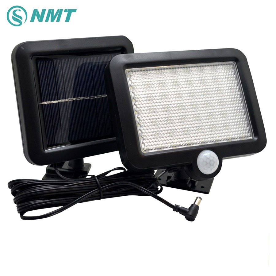 Solar Light 56Leds Outdoor LED Solar Powered Body Motion <font><b>Sensor</b></font> Solar Lamp Floodlights Garden Lawn Light Decoration