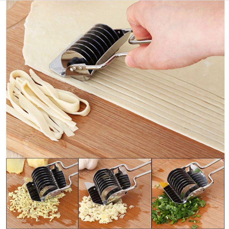 Нержавеющаясталь руководство Нескользящая ручка нажатия машина лапши с шалот резак spaetzle Кондитерские инструмент для Кухня jd223