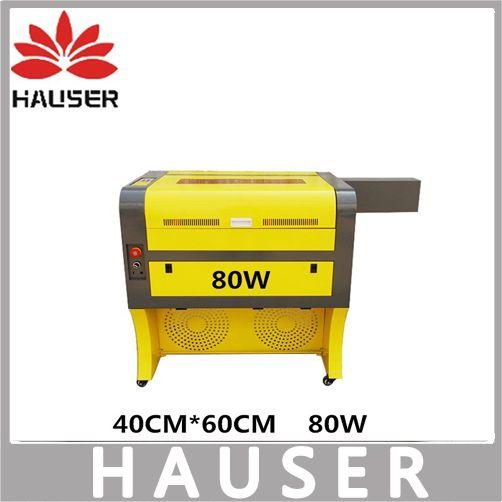Free Shipping HCZ 80w co2 laser CNC 4060 laser engraving cutter machine laser marking machine mini laser engraver cnc router diy