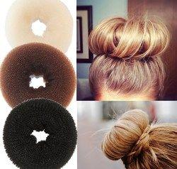 1 PC Plaque Cheveux Donut Fabricant de Pain Magique D'éponge de Mousse de Coiffage Outils Princesse Coiffure Accessoires Cheveux Élastique Cheveux Bandes