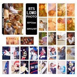 30 pcs/ensemble 2017 BTS Bangtan Garçons VOUS JAMAIS MARCHER SEUL Album LOMO Cartes Nouvelle Mode Self Made Papier Photo Carte HD papier
