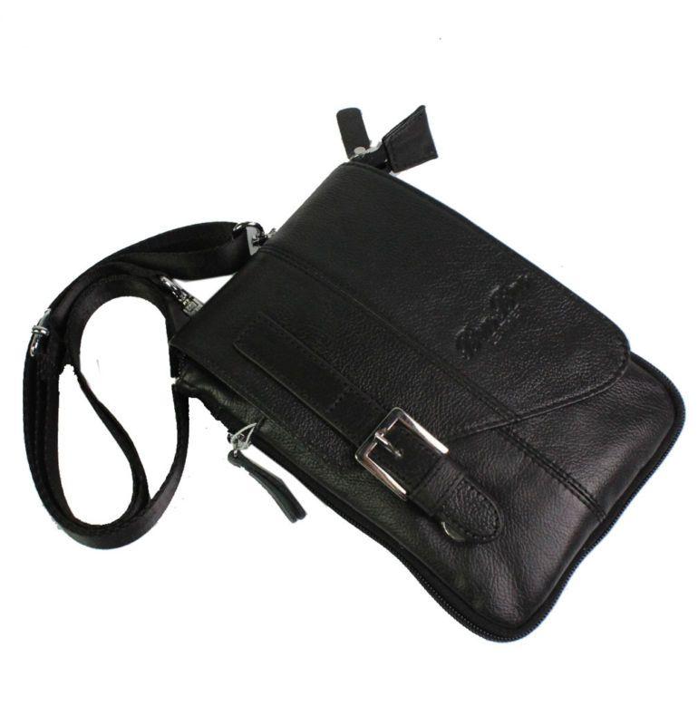 Для мужчин кожаные защелки крюк плеча пакет мешок Фанни Талия сумка новый кошелек многоцелевой