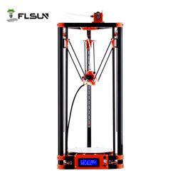 FLSUN Delta 3D Drucker, große Druck Größe 240*285mm 3d-Printer Pulley Version Linearführung Kossel Große Druck Größe auto-nivellierung