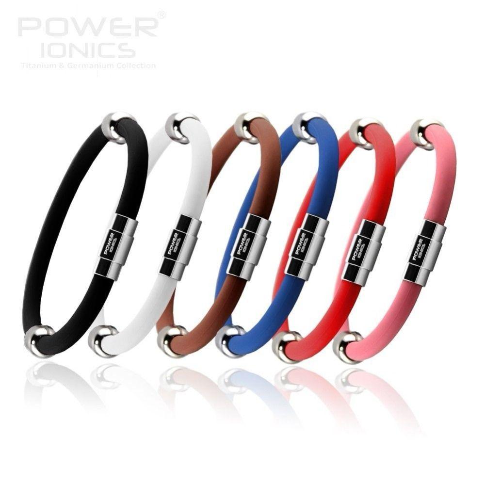 Puissance Ionique-ion Titane Magnétique Plus Bracelet Bracelet 6 couleurs U Choisir