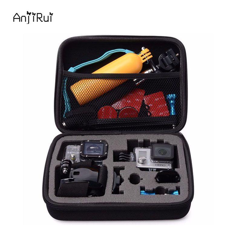 EVA Shockproof Portable Hard Protective case bag for Gopro Hero Sj 4 3 2/XiaomiYi Action Camera Travel Storage Case Accessories