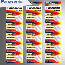 15 Stücke original brand neue batterie für PANASONIC cr2032 cr 2025 cr2016 3 v knopfzelle batterien für uhr computer