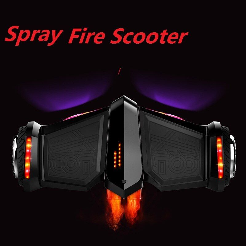 Neueste elektroroller Spray Dampf Skateboard Hoverboard selbstausgleich roller gyroscooter bluetooth lautsprecher Smart roller