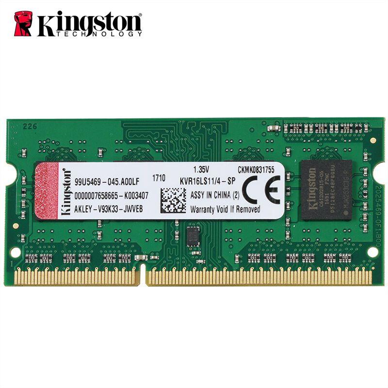Kingston DDR3 8 gb RAM 4 GB 1600 Mhz Memoria rams ddr 3 4 gb Sticks ddr3 1600 ddr3l dimm für Laptop Gaming HD Video 4 Karat Speicher Ram