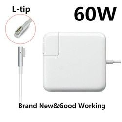 Remplacement Magnétique L-pointe 60 W MagSaf * Adaptateur D'alimentation pour Ordinateur Portable Chargeurs Pour Apple MacBook Pro 13 ''A1181 A1278 A1184 A1330 A1344