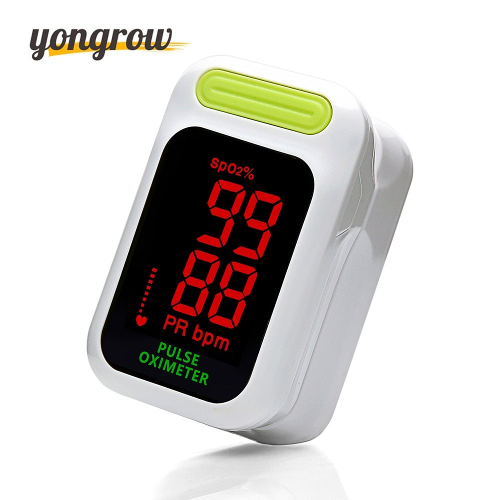 Yongrow New Arrival Finger Pulse Oximeter Portable Fingertip Pulse Oximeter Oximetro De Dedo Pulsioximetro Digital Auto-Power On