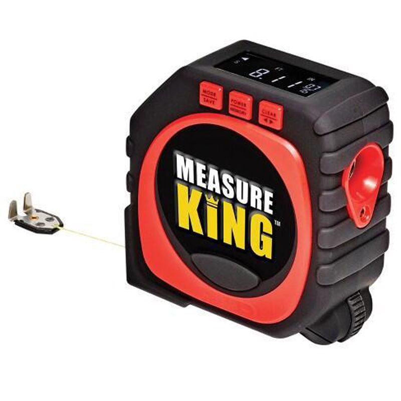 Measure King 3-in-1 Digital Tape Measure String Mode Sonic Mode Roller Mode Universal Measuring Tool Oven Parts