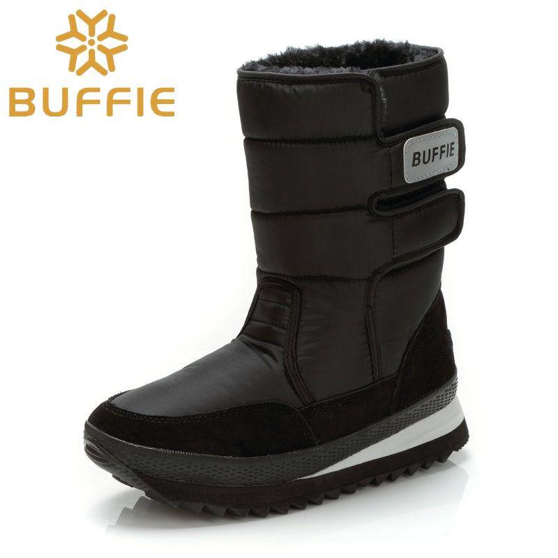 Hommes chaussures hiver bottes chaussure solide noir neige bottes grande taille 36 à grand 47 marque style chaud mâle chaussons livraison gratuite meilleure vente