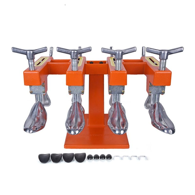 New Metal Double Shoe Stretcher Stretching Machine Tree Men Adjustable Width And Length