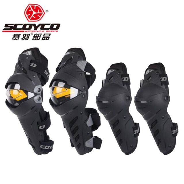 Scoyco K17H17 Motorcycle Elbow pad Protective Gear Motorcycle Protector Gear Outdoor guards Motorcycle protective kneepad