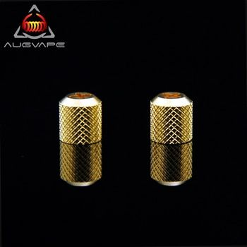 2pcs Augvape Druga RDA Nuts Gold Plated Druga RDA Stand DIY Foot Accessories