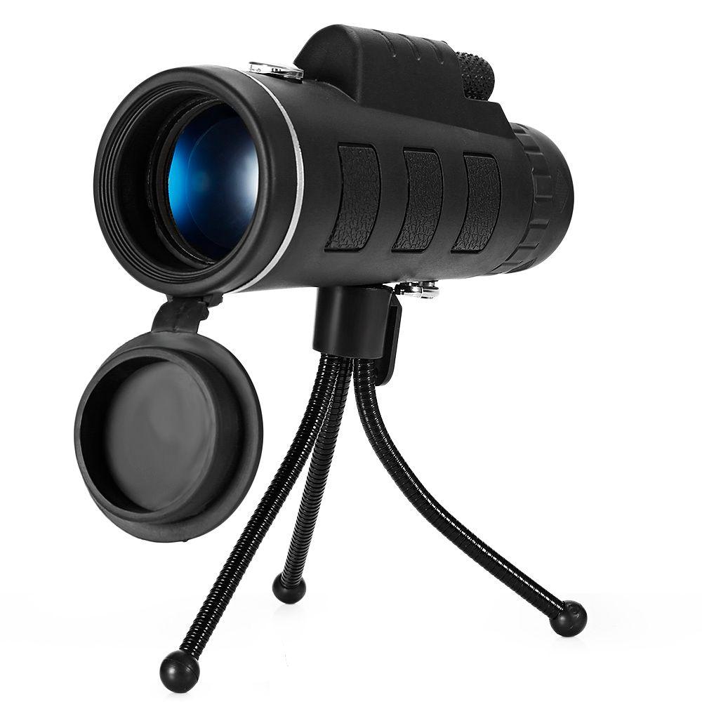 Outlife Mini 40X60 Monoculaire Télescope HD de Vision Nocturne Monoculaire de Chasse En Plein Air Camping Randonnée Scopes Avec Téléphone Clip Trépied