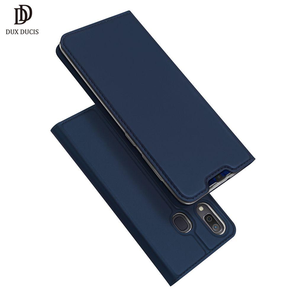 DUX DUCIS Flip Leather Case For Samsung Galaxy A30 A50 A40 Wallet Book Cover for Samsung A30 A50 A70 A20 A20e A10 A 30 40 2019