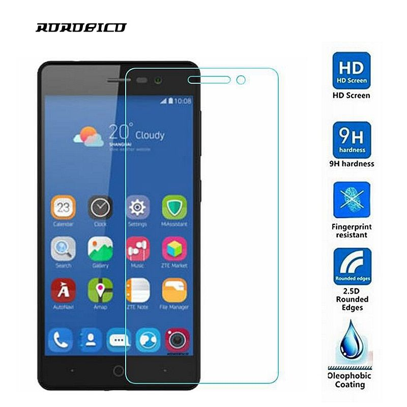 ROROBICO For ZTE Blade A603 BA603 Screen Protector 0.26mm 9H Premium Tempered Glass For ZTE Blade A603 Toughened protective film