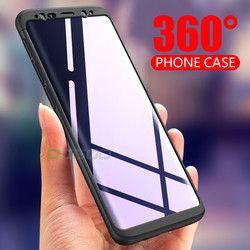 OICGOO De Luxe 360 Degrés Téléphone Cas Pour Samsung Galaxy S8 S9 Cas S8 Plus Note 8 Cas de Couverture Pour Samsung S9 Plus S8 Cas Coque