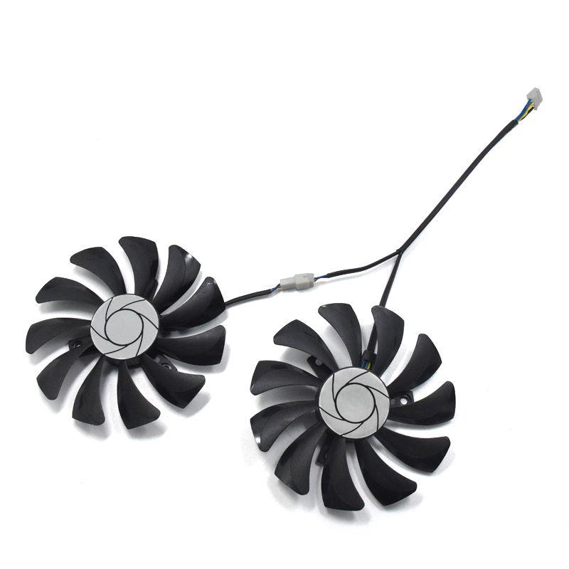 2 teile/satz HA9010H12F-Z GTX 1070/1060 GPU Karte Lüfter Für MSI GeForce GTX1060 GTX1070 MINI Grafikkarte kühlung