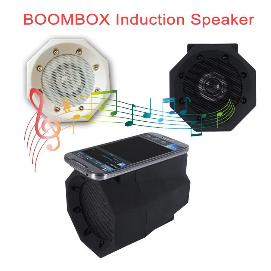 Wireless Touch Induction Boom Box Speaker Boombox Mini Stereo Bass Soudbox Mutual Inductance Mobile Phone Outdoor Speakers
