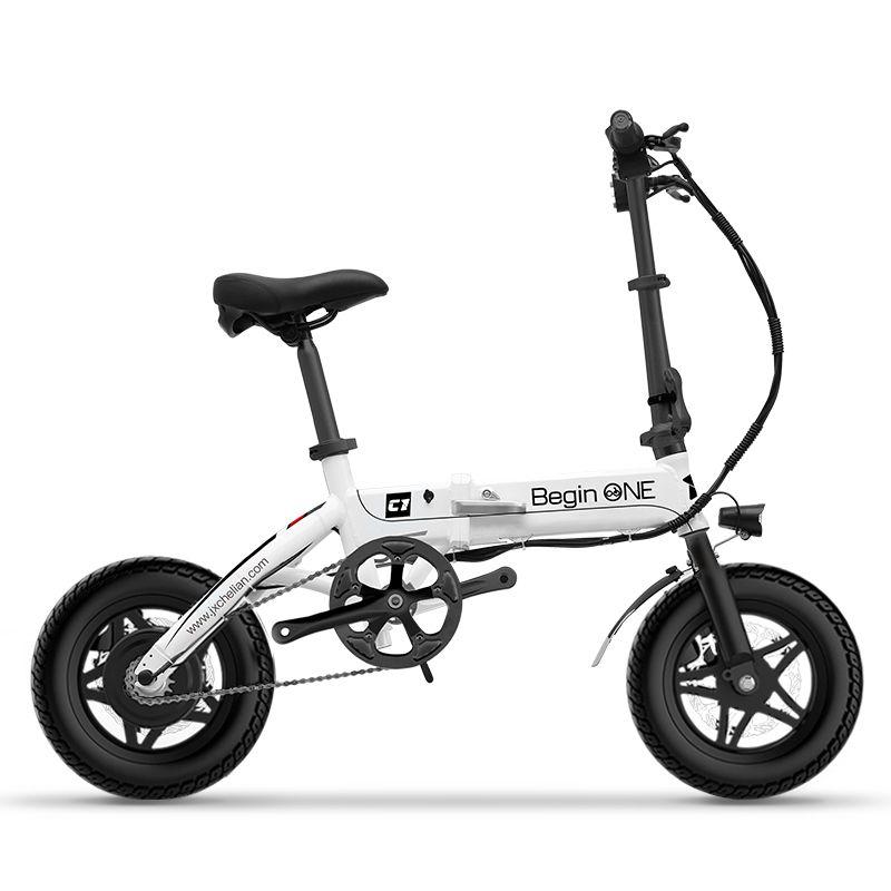 12 inch mini elektrisches fahrrad klapprahmen elektro-fahrrad falten mini erwachsene weibliche ultraleichten kleinen ebike 36 V li-ion akku