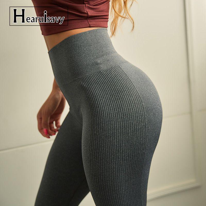 High Waist Seamless Yoga Pants Sports Leggings For Women's Workout Slim Gym Fitness push up Winter Running Tights Leggings