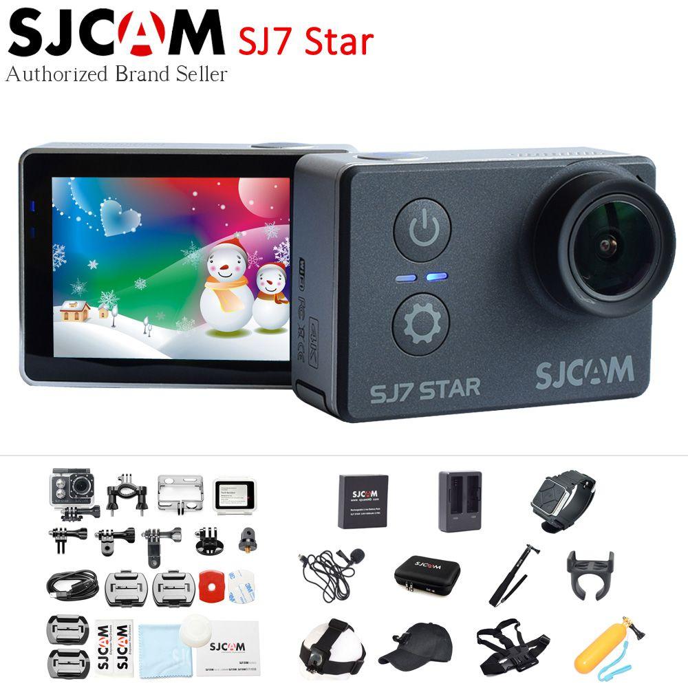SJCAM SJ7 Étoiles 4 K 30fps Wifi D'action Caméra Gyro 2.0
