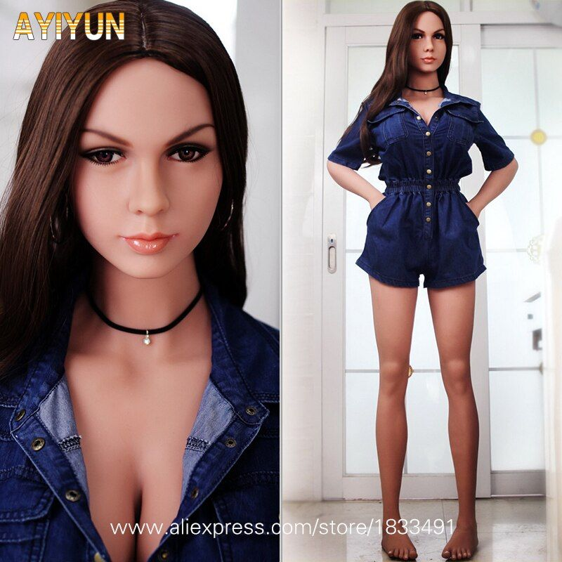 AYIYUN Silicone Sex Dolls for Men Top Quality Big Breast Masturbator Lifelike Real Vagina Oral Anal Love Doll Adult Sexy Doll