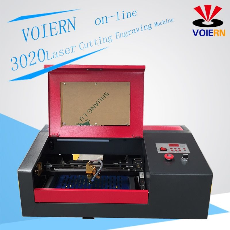 Free ship to Moscow!WR3020 laser engraving cutting maching laser engraver laser cutter working area 300*200mm 40W