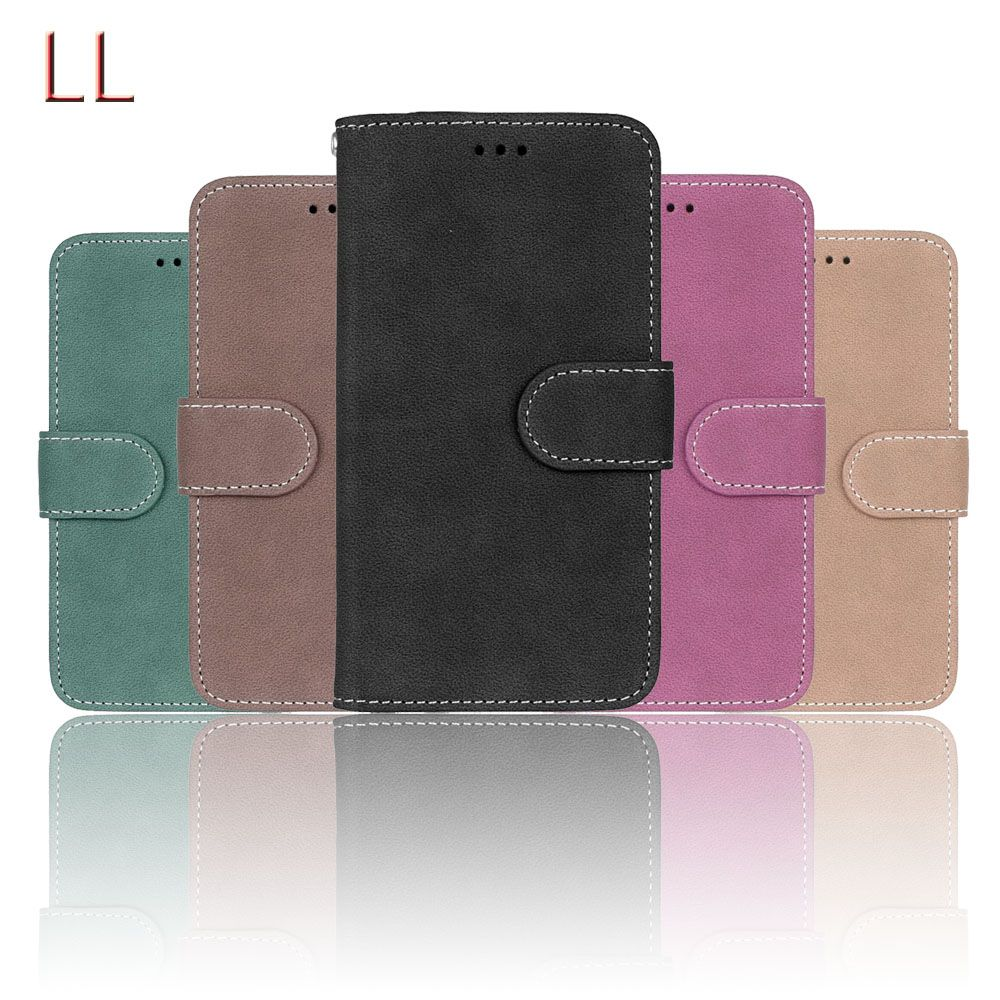 Flip PU Leather Case For Alcatel One Touch Idol 3 4.7 inch 6039 6039A 6039K 6039Y Cover Wallet Cases with Card Holder Phone Bags