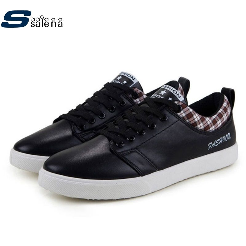 Classic Men Sneakers Men Skateboarding Shoes Breathable Outdoor Sports Shoes Non Slip Flat Skate Shoes Size 39-44 #B2303