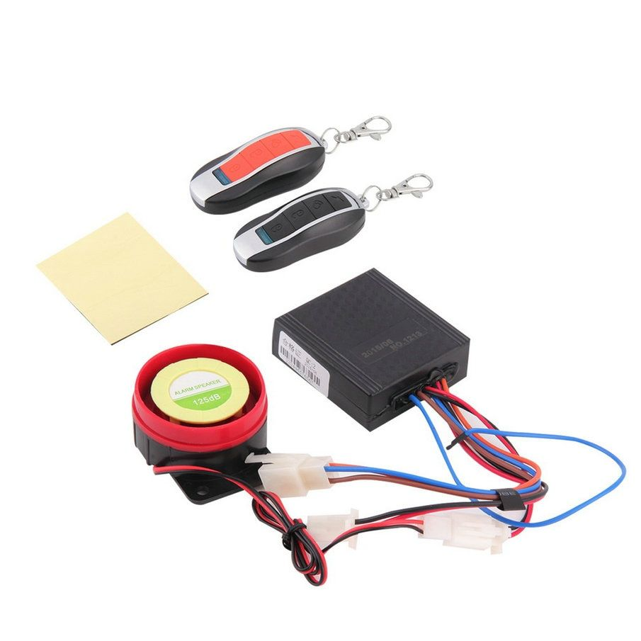 Waterproof Car Motorcycle Alarm System Anti-theft Security Remote Control antifurto auto Wholesale High Quality CLSK