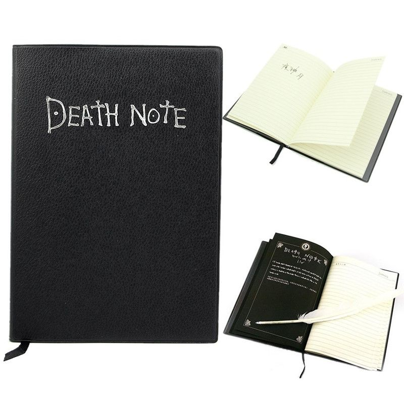 Cobee Death Note fresco 1 unid Notebook + Pluma de La Pluma de Escritura de Libros Diario planner Notebook Cosplay Escuela Japaness Anime Tema