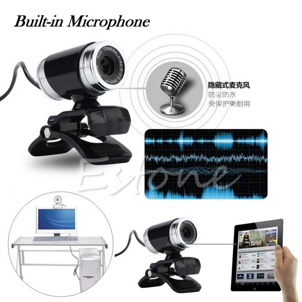 USB 50MP HD Kamera Webcam Mit MIC & Clip Für Laptop-Desktop-Computer PC