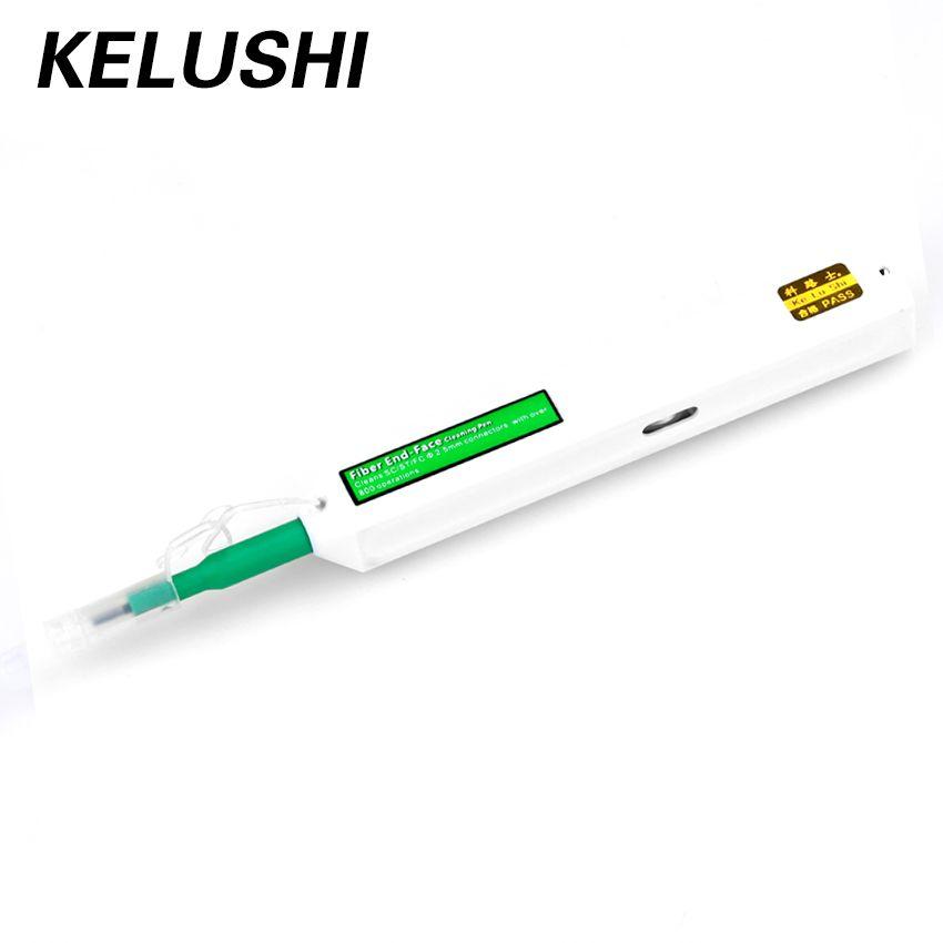 Kelushi One-Click чистого Волокно-Оптических Cleaner SC Тематические товары про рептилий и земноводных инструмент 2.5 мм Универсальный Волокно-оптическ...