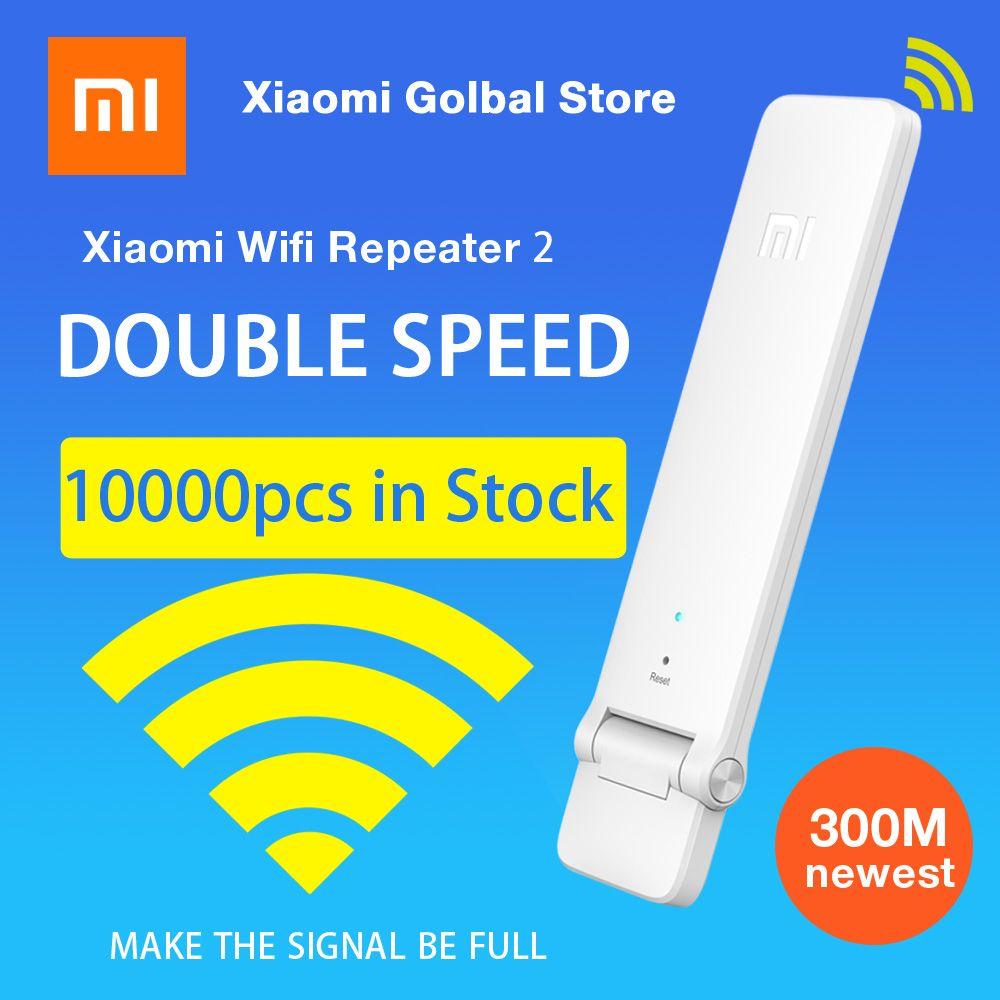 Английская версия Оригинальное Xiaomi Mi WI-FI повторителя 2 Усилители домашние Extender Усилители сигнала повторителя WI-FI Беспроводной для Xiaomi маршр...