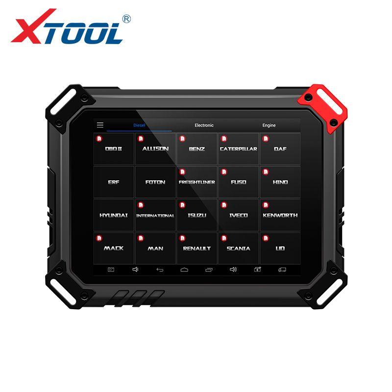 Xtool EZ500 HD Schwere Arbeiten Fast Alle Lkw Modelle mit WIFI Diagnosesystem und Spezielle Funktion Gleiche wie Xtool PS80