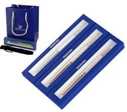 swarovski Pen with pen bag handbag gift box case Crystalline stardust diamond Ballpoint Pen wedding gift crystals stellar Pen