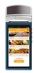 KIMI-V1 pos genggam dengan printer Sunmi V1 android PDA 5.5 inch Sentuh 3G Wifi Bluetooth iBeacon dengan 58mm Printer built-in