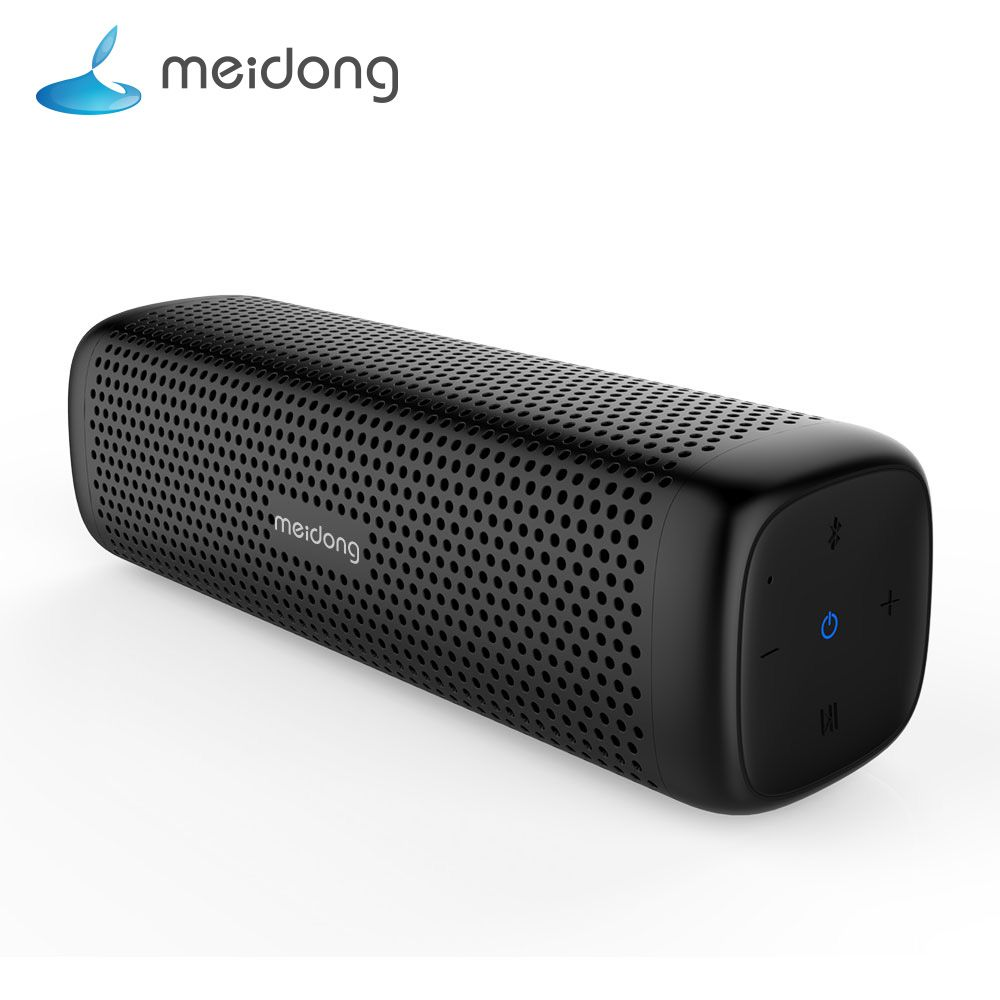 Meidong MD-6110 Wireless Bluetooth Portable Speaker 15W Super bass <font><b>Loudspeaker</b></font> Built-in microphone 12-Hour Playtime for phone PC