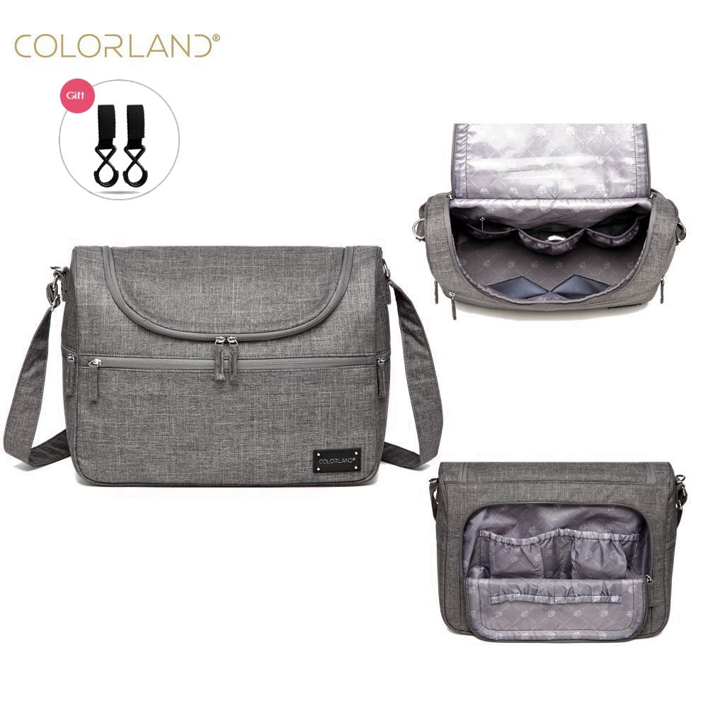 Colorland Brand Baby Bags Messenger Large Diaper Bag <font><b>Organizer</b></font> Design Nappy Bags For Mom Fashion Mother Maternity Bag Stroller